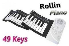 Portable flexible synthesizer of Rollin' Pian