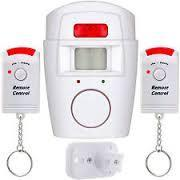 The Sensor Alarm alarm system with the motion