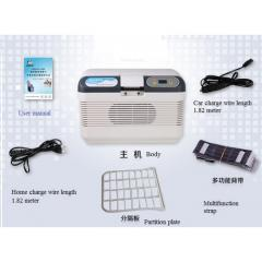 Car refrigerator of 12 h.p. heating function