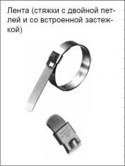 Лента (стяжки с двойной петлей и со встроенной застежкой) Band-It® Ultra-Lok®