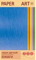 Бумага цветная 7л. 7цветной Фольгир. Сияние цвета