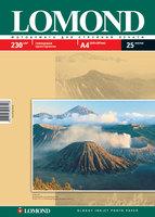 Бумага для фотопечати А4 Lomond 230Г.025л. глянцевая