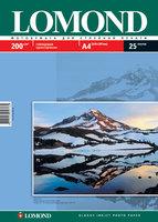 Бумага для фотопечати А4 Lomond 200Г.025л. глянцевая