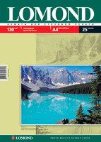 Бумага для фотопечати А4 Lomond 130Г.025л. глянцевая