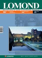 Бумага для фотопечати А4 Lomond 160Г.025л. матовая
