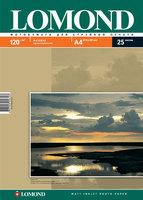 Бумага для фотопечати А4 Lomond 120Г.025л. матовая