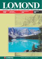 Бумага для фотопечати А4 Lomond 130Г.050л. глянцевая