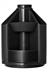Подставка канцелярская Mini Desk Б/Н черный