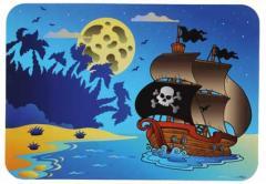 Дощечка для пластилина Пиратский Кораблик