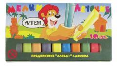 Мел цветной Алгем 10 шт.