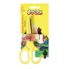 Ножницы детские Зиг-Заг 135мм фигурные
