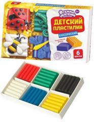 Пластилин Гамма Увлечений классический 6 цв.