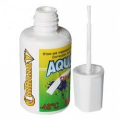 Корректирующая жидкость Aquastrich с кисточкой на водной основе 20мл.