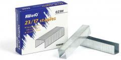 Скобы для степлера №23/17 1000 шт. (120-140 листов)