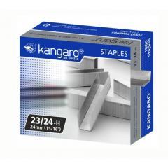 Скобы для степлера №23/24 Kangaro 1000 шт. (190-210 листов)