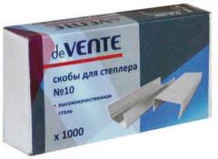Скобы для степлера №10 1000 шт. (2-20 листов)