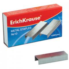 Скобы для степлера №10 Erich Krause 1000 шт.(2-20 листов)