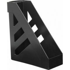 Подставка для папок 10 см Стамм черная