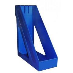 Подставка для папок 10см Стамм Базис синяя