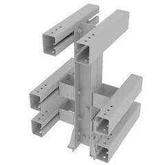 Мостовое ограждение c применением W-профиля 21МД/У6(400)-1,1-2,0-0,73