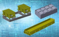 Матрицы для сплитерных блоков, лего-кирпичей, металлоформы, опалубки