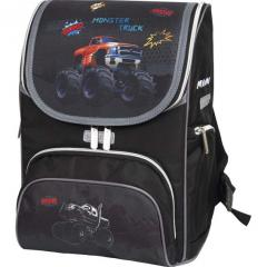 Ранец Devente Mini Monster Truck 35*26*20см орт. сп.