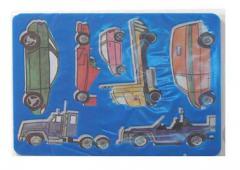 Трафарет пластиковый Машины ( Луч )