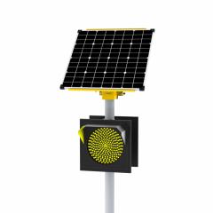 Светофор светодиодный транспортный автономный