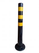 Столбик гибкий ЧЕРНЫЙ 750мм с круглым основанием