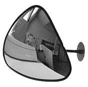 Зеркало дляпомещений треугольное 330х330х380 мм