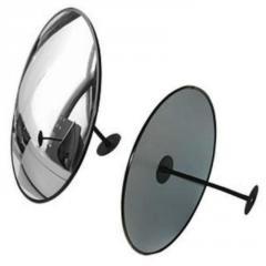 Зеркало дляпомещений круглое с гибким кронштейном