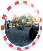 Зеркало дорожное сосветовозвращающей окантовкой
