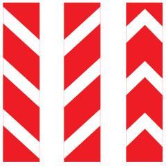 Знак дорожный 2 т/р Прямоугольный 350х1050