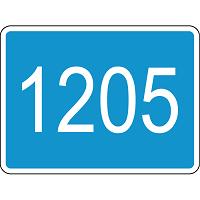 Табличка км двусторонняя 6.13