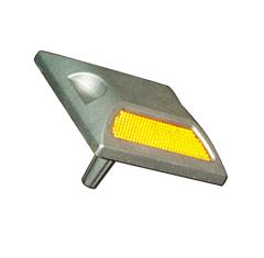Light reflector road KD-3 aluminum on a leg