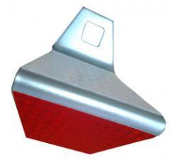 Светоотражатель дорожный КД-5 металл оцинковка 1,5мм