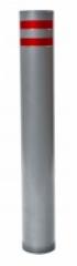 Столбик бетонируемый серии Премиум плоский верх