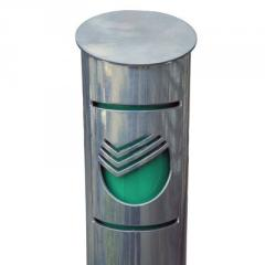 Столбик анкерный/бетонируемый Премиум плазменная резка с подсветкой