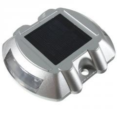 Маячок алюминиевый светодиодный на солнечной