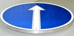 Sign road LED diameter 700