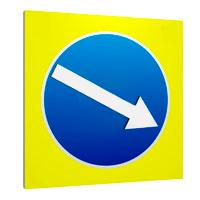 Знак дорожный сведодиодный 700х700 5.19.1, 5.19.2