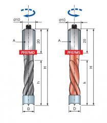 Инструмент для CNC центров PF07MD, PF07MS