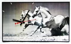 Часы настенные Лошади