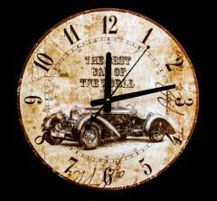 Часы настенные Ретромобиль