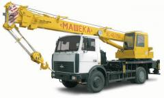 "KC-45729A-1 truck crane of ""Mashek"