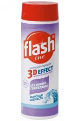 Чистящий порошок Flashine 3D Эффект 400Г.