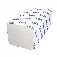 Полотенце бумажное Lime V, 2 Сл., 23Х24 см, белые, 200 л.