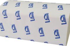 Полотенце бумажное Lime Z, 1 Сл., 21, 5Х23 см, белые, 250 л.