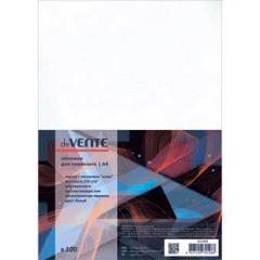 Обложки для переплета Devente А4 картон под кожу бел. (100 шт)
