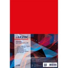 Обложки для переплета Devente А4 картон глянец красн. (100 шт)